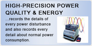High-Precision Power Quality & Energy Monitoring