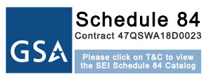 GSA Schedule 84 Contract Award